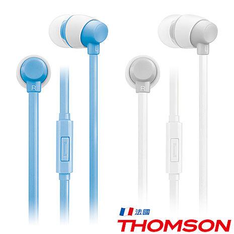 THOMSON 繽紛色彩耳機 TM-TAEL01M藍色