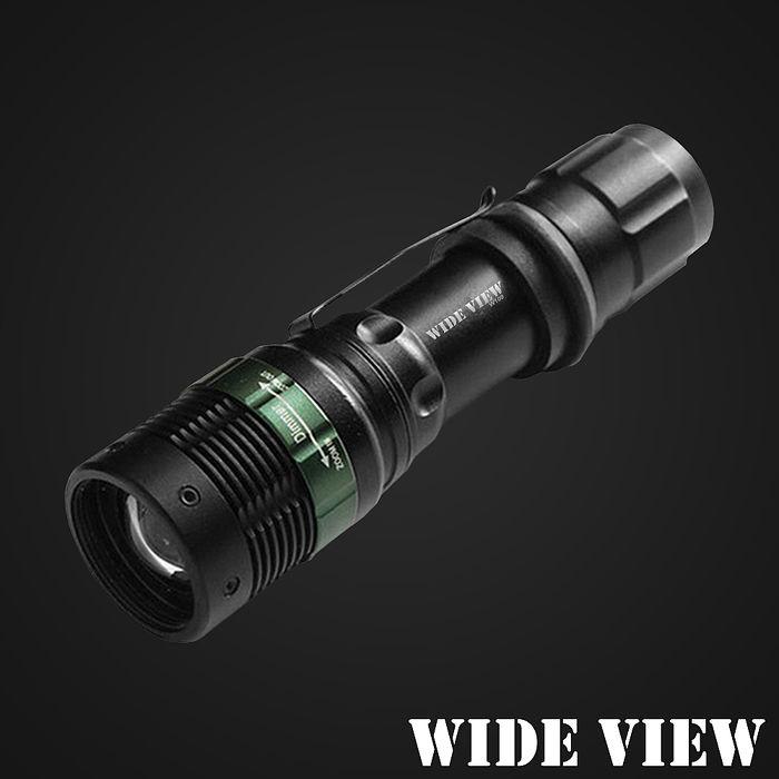 【WIDE VIEW】Q5 LED強光變焦手電筒ZL-W109-T
