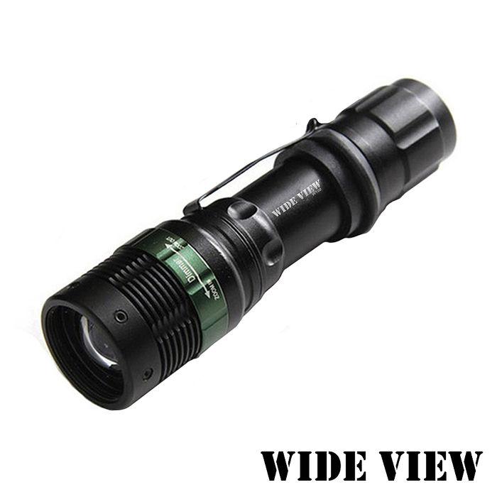 【WIDE VIEW】Q5 LED強光變焦手電筒NZL-W109-T