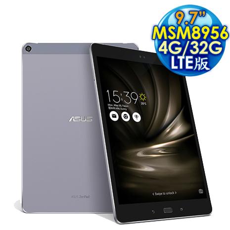 【限時下殺】ASUS 華碩 ZenPad 3s 10 4G/32G LTE版 (Z500KL) 9.7吋 六核心平板電腦 灰色
