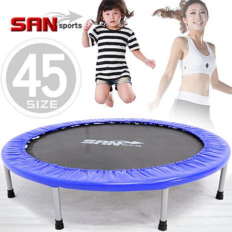 【SAN SPORTS 山司伯特】跳跳樂45吋彈跳床
