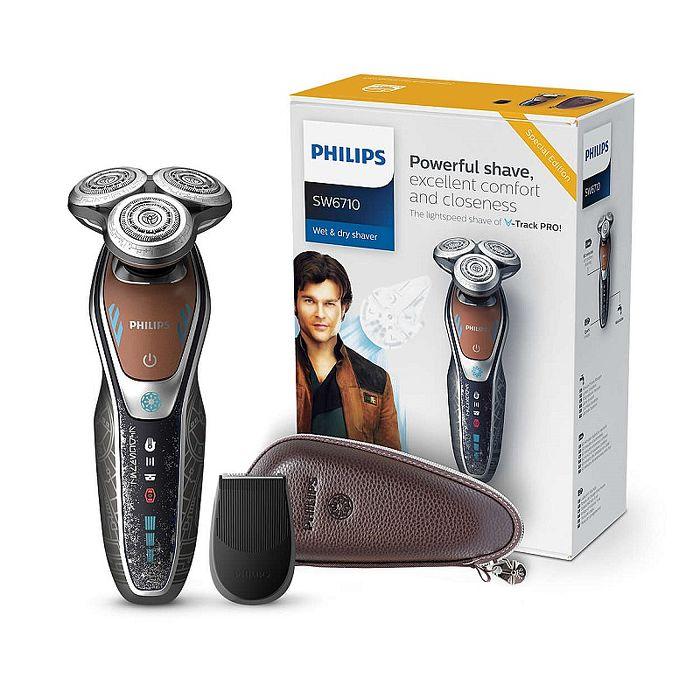 【PHILIPS飛利浦】星戰系列Star Wars 韓索羅電鬍刀/刮鬍刀 SW6710