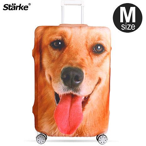 Starke 高彈性行李箱套-黃金獵犬 適用23-26吋