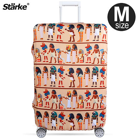 Starke 高彈性行李箱套-埃及文明 適用23-26 吋