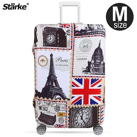 Starke 高彈性行李箱套-復古歐洲 適用23-26 吋
