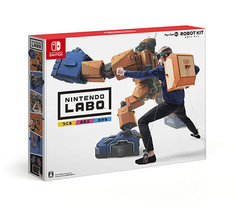 【Switch】任天堂實驗室 Labo 機器人Toy-Con02 ROBOT KIT 紙箱
