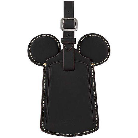 COACH Disney Mickey造型行李吊牌-黑色(特賣)