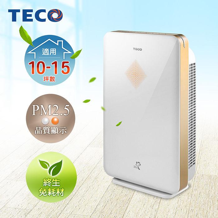TECO東元高效免耗材空氣清淨機 NN4001BD(特賣)