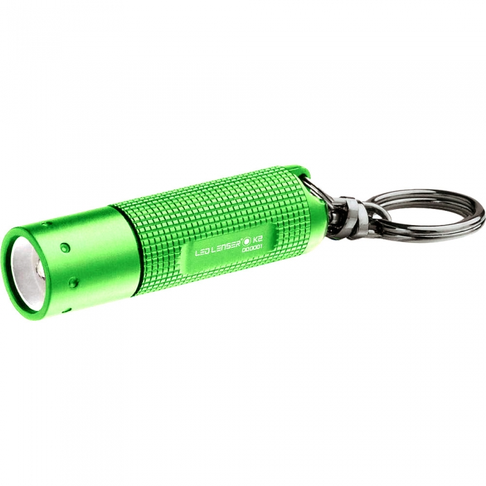 德國LED LENSER K2鎖匙圈型手電筒-綠色