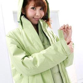 【Fox Friend 】亮麗款三件式GORE-TEX+羽絨+刷毛外套水藍 - M