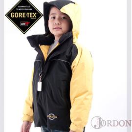 【JORDON】GORE-TEX防水透氣外套+羽絨保暖外套 兒童款兩件式(買就送GORE-TEX帽子喔)紅 - 10