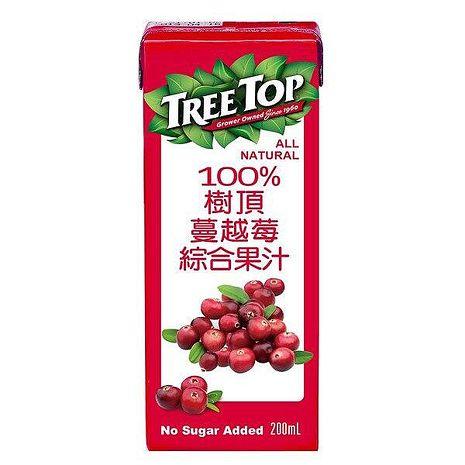 《TreeTop》樹頂100%蔓越莓綜合果汁利樂包(200mlx24入)