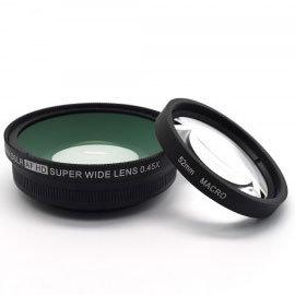 單眼專用廣角鏡頭 0.45x 外口徑72mm