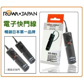 ROWA MINI電子快門線【RS-60E3】適用 CANON 550D 650D 600D G1X SX50 300D 350D 400D 450D 1000D EOS30 EOS33 EOS300 EOS50 500N