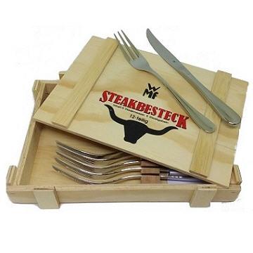 WMF牛排刀叉12PC木盒 不鏽鋼牛排刀叉組