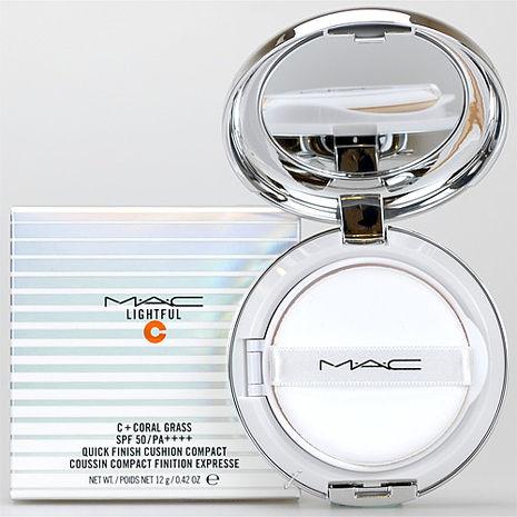 M.A.C 超顯白氣墊粉餅SPF50PA++++(12g)(蕊心+粉撲+粉盒)[2色]Light Plus