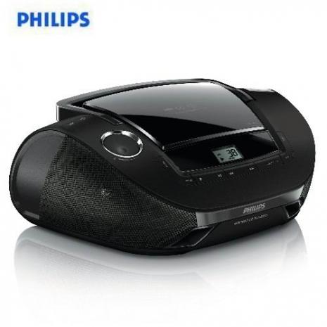 1111搶購【福利品】飛利浦PHILIPS手提MP3/USB音響AZ1837