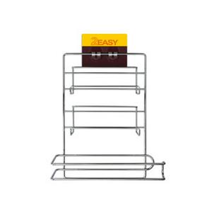 (任選)【2EASY】無痕掛勾 保鮮膜廚房紙巾架