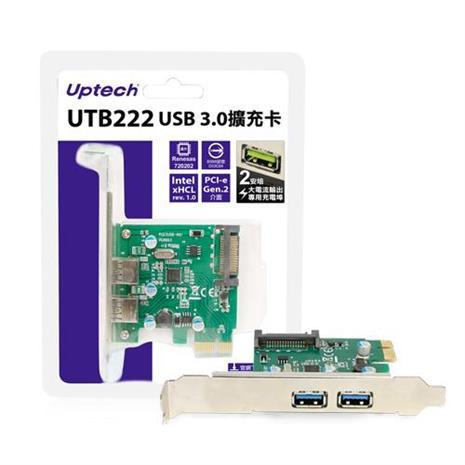 Uptech 登昌恆 UTB222 USB 3.0擴充卡
