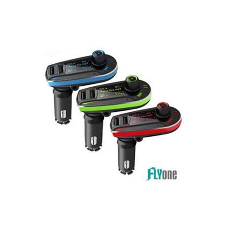 FLYone FM-W6 車用免持/藍芽轉FM音樂傳輸/MP3音樂播放器