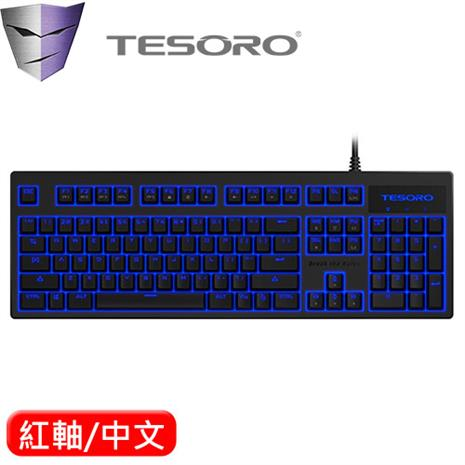 TESORO 鐵修羅 Excalibur V2 克力博劍 機械鍵盤 紅軸 黑