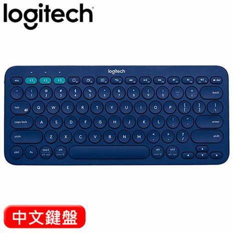 Logitech 羅技 K380 跨平台藍牙鍵盤 藍