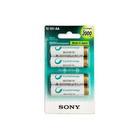 SONY 索尼 3號2000mah 充電電池4入(日本製)