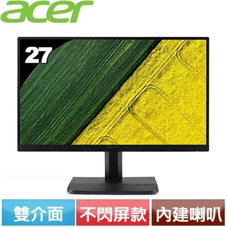 Acer ET271 27型 IPS 窄邊框電腦螢幕
