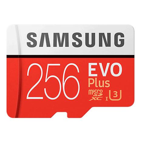SAMSUNG三星 EVO PLUS microSDXC UHS-I 256GB 記憶卡
