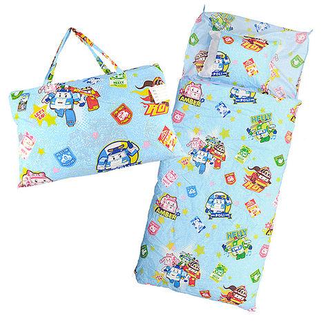 【Babytiger虎兒寶】卡通造型幼教兒童睡袋- POLI 救援小英雄 波力 ROBOCAR~特賣