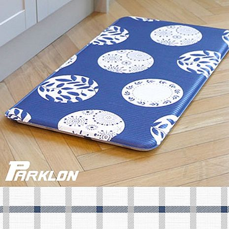 【BabyTiger虎兒寶】PARKLON 韓國帕龍 - 雙面多用途長地墊 -【青花瓷】廚房墊/走道墊~特賣