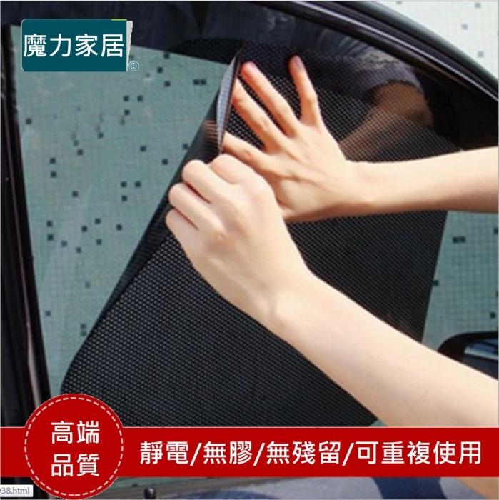搶購【網點靜電玻璃隔熱貼2入包裝】可無限次重複使用/隔熱/防曬/防紫外線(魔力家居YS-M003)
