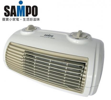 『SAMPO 聲寶』陶瓷定時電暖器 HX-FG12P/HXFG12P