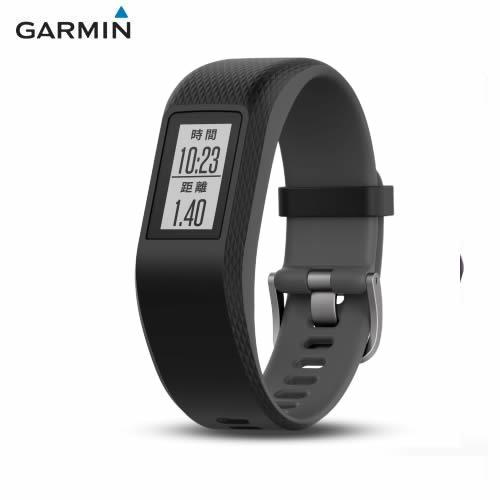 GARMIN vivosport GPS 智慧健康心率手環 躍動黑 (大)