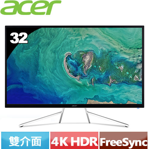 ACER ET322QK 32型VA 4K高解析HDR電競螢幕