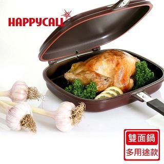 ㊣超值搶購↘53折【韓國HAPPYCALL】陶瓷熱循環多用途不沾雙面鍋(臺灣限定販售款)