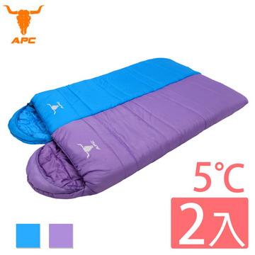 ㊣超值搶購↘66折APC《馬卡龍》秋冬可拼接全開式睡袋(2入組)