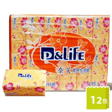 P&Life奈芙-A+家用生活紙(100抽x12包/串)
