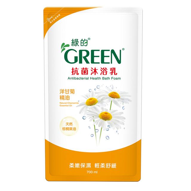 綠的GREEN 抗菌沐浴乳-洋甘菊精油700ml*1