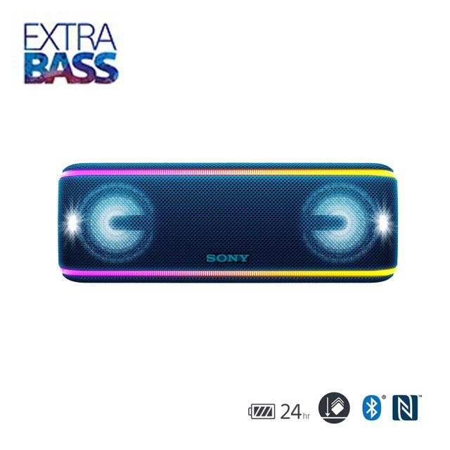 SONY 可攜式藍牙喇叭 SRS-XB41 藍