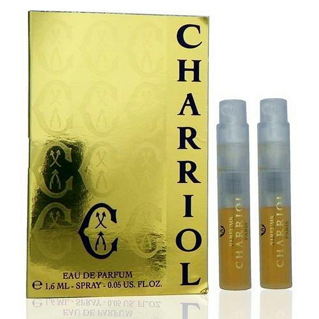Charriol 夏利豪同名女香 -- 淡香精 1.6ml x 2