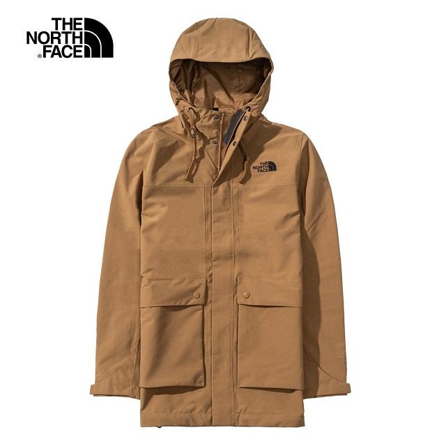 【The North Face】防水透氣衝鋒衣外套-NF0A4U7YT5C
