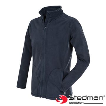 【德國STEDMAN】ST5030 細柔保暖刷毛外套-男-暗夜藍