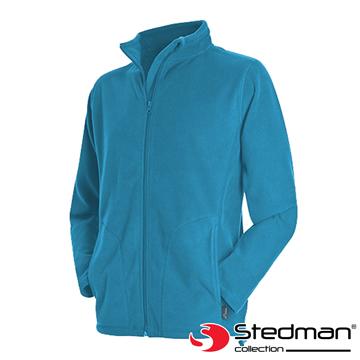 【德國STEDMAN】ST5030 細柔保暖刷毛外套-男-亮藍