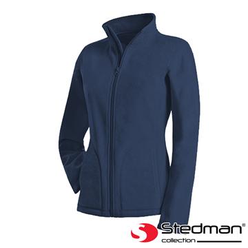 【德國STEDMAN】ST5100 細柔保暖刷毛外套-女-暗夜藍