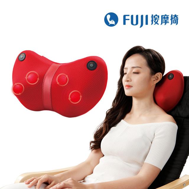 FUJI溫揉按摩機FG-159紅色
