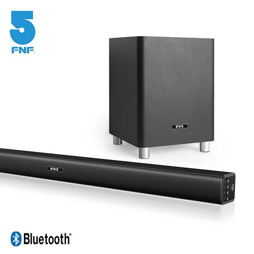 【ifive】全功能3D環繞音效藍牙SoundBar單件式家庭劇院音響