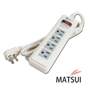 松井電腦一燈四孔延長線FT-4PC