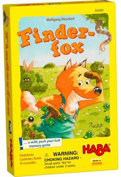 狐狸躲貓貓(HABA 德國桌遊303583-Finder fox)