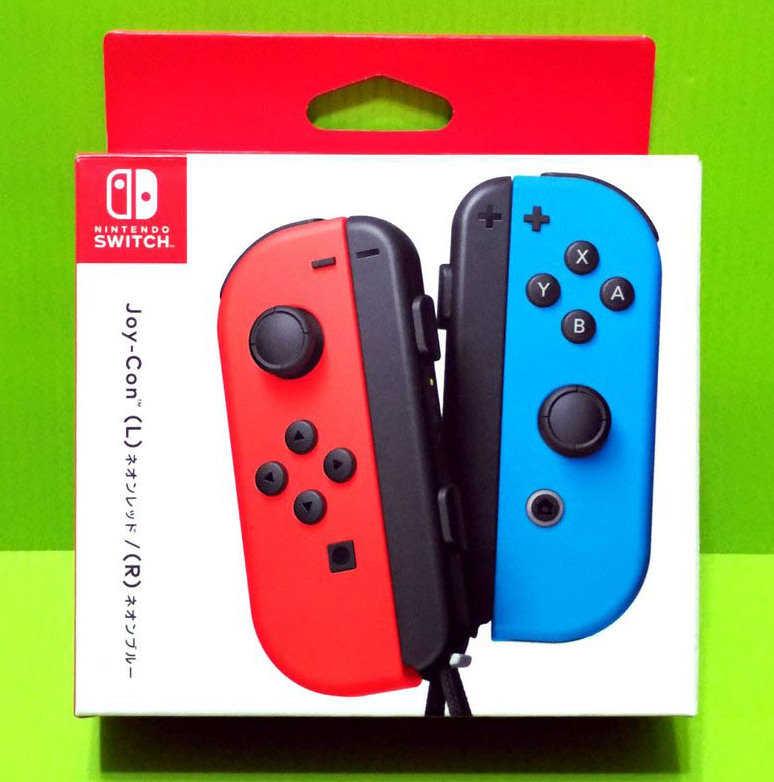 任天堂Nintendo Switch Joy-Con (紅藍)原廠左右手把